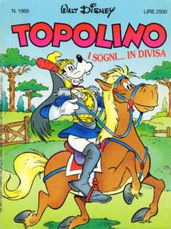 Copertina TOPOLINO LIBRETTO n.1969 - TOPOLINO  1969, WALT DISNEY PRODUCTION
