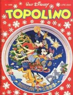 Copertina TOPOLINO LIBRETTO n.1986 - TOPOLINO  1986, WALT DISNEY PRODUCTION