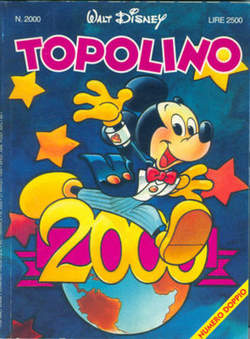 Copertina TOPOLINO LIBRETTO n.2000 - TOPOLINO  2000, WALT DISNEY PRODUCTION
