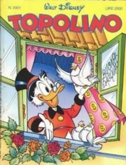 Copertina TOPOLINO LIBRETTO n.2001 - TOPOLINO  2001, WALT DISNEY PRODUCTION