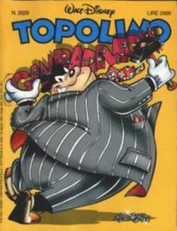 Copertina TOPOLINO LIBRETTO n.2029 - TOPOLINO  2029, WALT DISNEY PRODUCTION