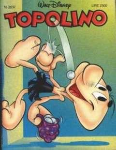 Copertina TOPOLINO LIBRETTO n.2037 - TOPOLINO  2037, WALT DISNEY PRODUCTION