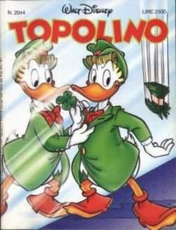 Copertina TOPOLINO LIBRETTO n.2044 - TOPOLINO  2044, WALT DISNEY PRODUCTION