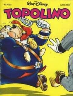 Copertina TOPOLINO LIBRETTO n.2063 - TOPOLINO  2063, WALT DISNEY PRODUCTION