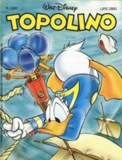Copertina TOPOLINO LIBRETTO n.2067 - TOPOLINO  2067, WALT DISNEY PRODUCTION