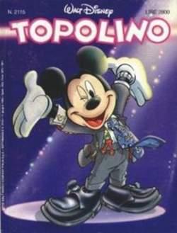 Copertina TOPOLINO LIBRETTO n.2115 - TOPOLINO  2115, WALT DISNEY PRODUCTION