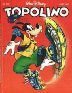 Copertina TOPOLINO LIBRETTO n.2117 - TOPOLINO  2117, WALT DISNEY PRODUCTION