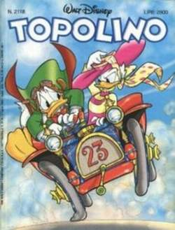 Copertina TOPOLINO LIBRETTO n.2118 - TOPOLINO  2118, WALT DISNEY PRODUCTION