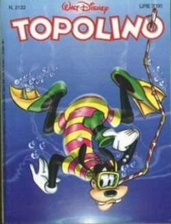 Copertina TOPOLINO LIBRETTO n.2122 - TOPOLINO  2122, WALT DISNEY PRODUCTION