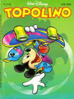 Copertina TOPOLINO LIBRETTO n.2135 - TOPOLINO  2135, WALT DISNEY PRODUCTION