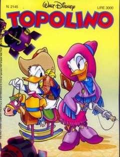 Copertina TOPOLINO LIBRETTO n.2145 - TOPOLINO  2145, WALT DISNEY PRODUCTION