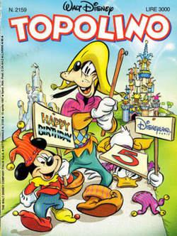 Copertina TOPOLINO LIBRETTO n.2159 - TOPOLINO  2159, WALT DISNEY PRODUCTION