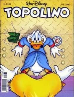 Copertina TOPOLINO LIBRETTO n.2169 - TOPOLINO  2169, WALT DISNEY PRODUCTION