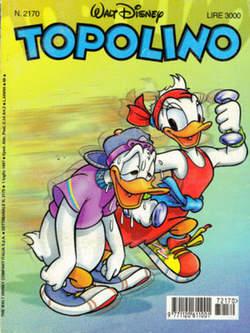 Copertina TOPOLINO LIBRETTO n.2170 - TOPOLINO  2170, WALT DISNEY PRODUCTION
