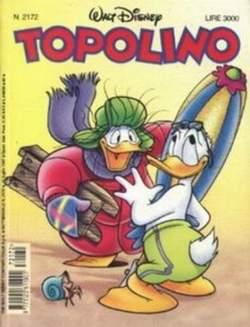 Copertina TOPOLINO LIBRETTO n.2172 - TOPOLINO  2172, WALT DISNEY PRODUCTION