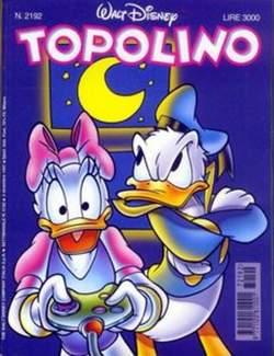 Copertina TOPOLINO LIBRETTO n.2192 - TOPOLINO  2192, WALT DISNEY PRODUCTION