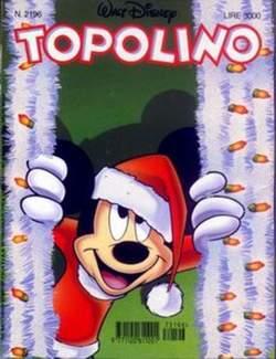Copertina TOPOLINO LIBRETTO n.2196 - TOPOLINO  2196, WALT DISNEY PRODUCTION