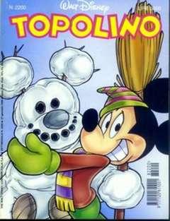Copertina TOPOLINO LIBRETTO n.2200 - TOPOLINO  2200, WALT DISNEY PRODUCTION