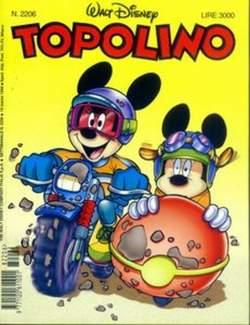 Copertina TOPOLINO LIBRETTO n.2206 - TOPOLINO  2206, WALT DISNEY PRODUCTION