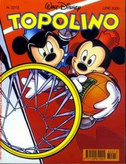 Copertina TOPOLINO LIBRETTO n.2213 - TOPOLINO  2213, WALT DISNEY PRODUCTION