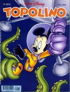 Copertina TOPOLINO LIBRETTO n.2215 - TOPOLINO  2215, WALT DISNEY PRODUCTION