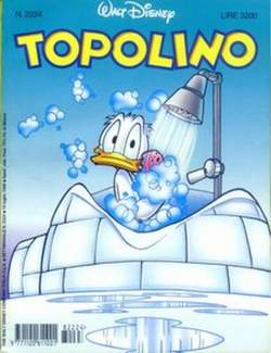 Copertina TOPOLINO LIBRETTO n.2224 - TOPOLINO  2224, WALT DISNEY PRODUCTION