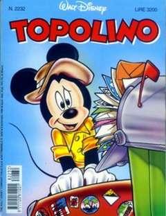Copertina TOPOLINO LIBRETTO n.2232 - TOPOLINO  2232, WALT DISNEY PRODUCTION