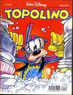 Copertina TOPOLINO LIBRETTO n.2239 - TOPOLINO  2239, WALT DISNEY PRODUCTION