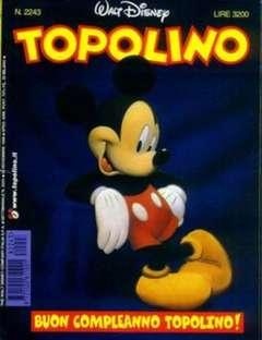 Copertina TOPOLINO LIBRETTO n.2243 - TOPOLINO  2243, WALT DISNEY PRODUCTION