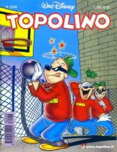 Copertina TOPOLINO LIBRETTO n.2246 - TOPOLINO  2246, WALT DISNEY PRODUCTION