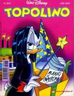 Copertina TOPOLINO LIBRETTO n.2247 - TOPOLINO  2247, WALT DISNEY PRODUCTION