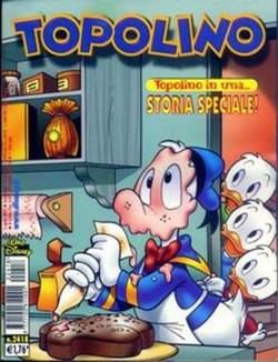 Copertina TOPOLINO LIBRETTO n.2418 - TOPOLINO  2418, WALT DISNEY PRODUCTION