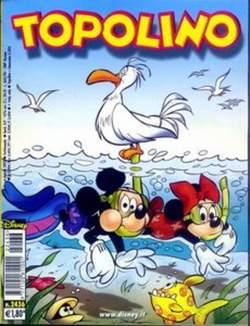 Copertina TOPOLINO LIBRETTO n.2436 - TOPOLINO  2436, WALT DISNEY PRODUCTION
