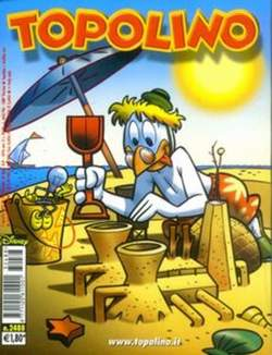 Copertina TOPOLINO LIBRETTO n.2488 - TOPOLINO  2488, WALT DISNEY PRODUCTION