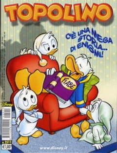 Copertina TOPOLINO LIBRETTO n.2511 - TOPOLINO  2511, WALT DISNEY PRODUCTION
