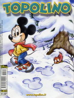 Copertina TOPOLINO LIBRETTO n.2512 - TOPOLINO  2512, WALT DISNEY PRODUCTION