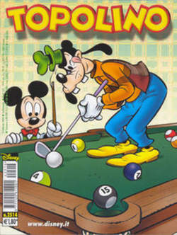 Copertina TOPOLINO LIBRETTO n.2514 - TOPOLINO  2514, WALT DISNEY PRODUCTION
