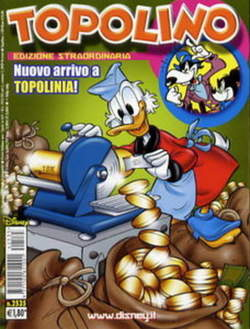 Copertina TOPOLINO LIBRETTO n.2535 - TOPOLINO  2535, WALT DISNEY PRODUCTION