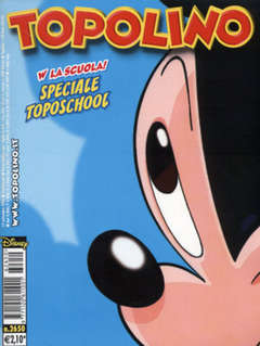Copertina TOPOLINO LIBRETTO n.2650 - TOPOLINO  2650, WALT DISNEY PRODUCTION