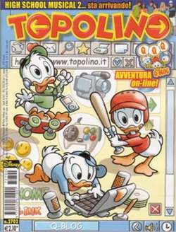 Copertina TOPOLINO LIBRETTO n.2702 - TOPOLINO  2702, WALT DISNEY PRODUCTION