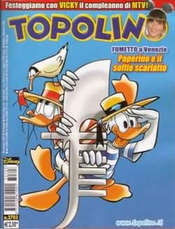 Copertina TOPOLINO LIBRETTO n.2703 - TOPOLINO  2703, WALT DISNEY PRODUCTION