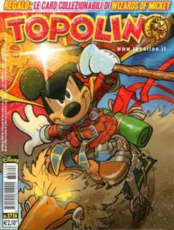 Copertina TOPOLINO LIBRETTO n.2726 - TOPOLINO  2726, WALT DISNEY PRODUCTION