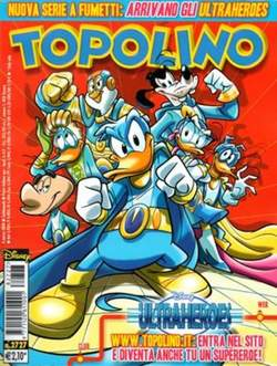 Copertina TOPOLINO LIBRETTO n.2727 - TOPOLINO  2727, WALT DISNEY PRODUCTION