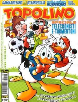 Copertina TOPOLINO LIBRETTO n.2729 - TOPOLINO  2729, WALT DISNEY PRODUCTION