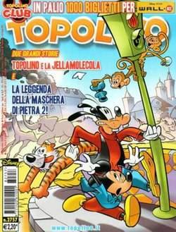 Copertina TOPOLINO LIBRETTO n.2757 - TOPOLINO  2757, WALT DISNEY PRODUCTION