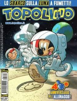 Copertina TOPOLINO LIBRETTO n.2799 - TOPOLINO  2799, WALT DISNEY PRODUCTION