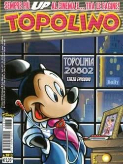 Copertina TOPOLINO LIBRETTO n.2813 - TOPOLINO  2813, WALT DISNEY PRODUCTION