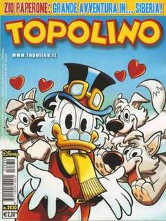 Copertina TOPOLINO LIBRETTO n.2830 - TOPOLINO  2830, WALT DISNEY PRODUCTION