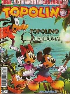 Copertina TOPOLINO LIBRETTO n.2832 - TOPOLINO  2832, WALT DISNEY PRODUCTION