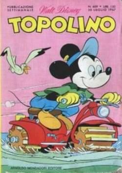Copertina TOPOLINO LIBRETTO n.609 - TOPOLINO   609, WALT DISNEY PRODUCTION